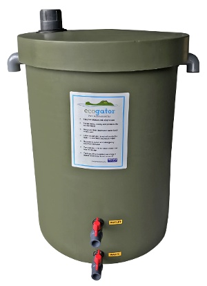 POOL BACKWASH TANK